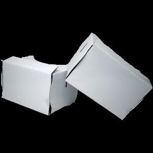 Cardboard blanc